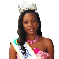 AURELIA CLAIRE AROMBINO, MISS GABON 2008