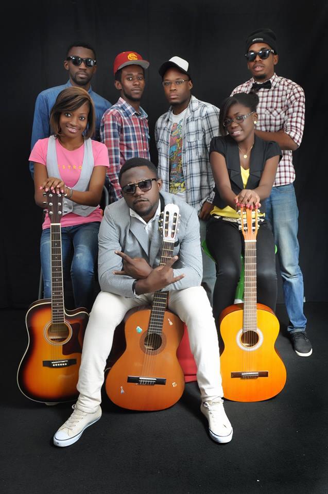 MJC GLORY et son groupe LES FILS DU WAZ.