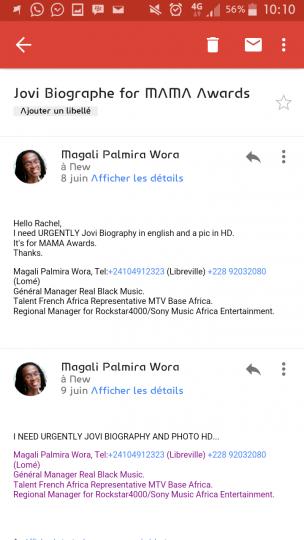 Magali screen