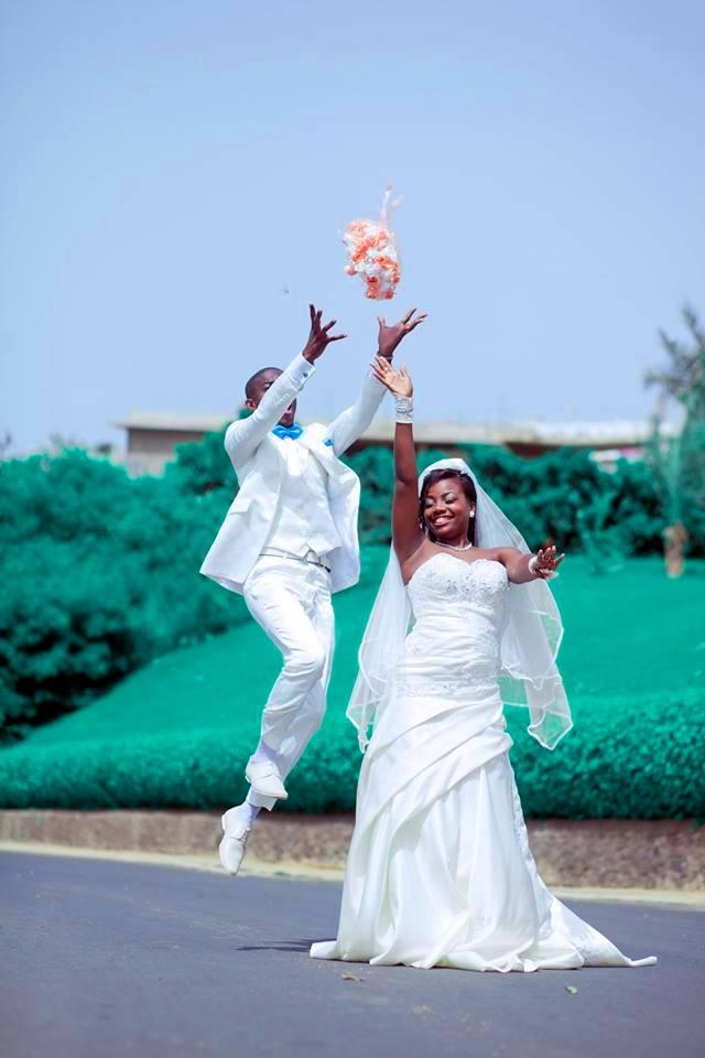Le couple Imalet Onanga.
