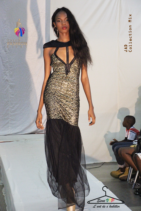 Les créations  JAD Collections de la styliste Jes TaLov lors du Young Fashion Night a Dakar. ( PHOTOS CREDITS SAMA WADJI ).