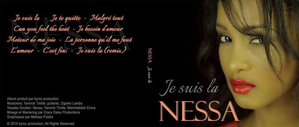 Nessa : JE SUIS LA.