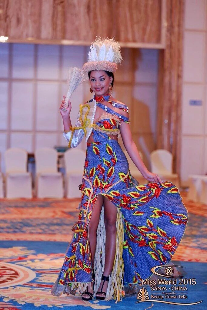 MISS GABON 2015, Reine Ngotala.