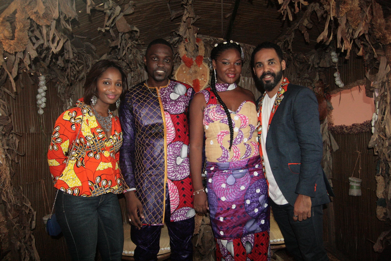 K.O et Raila Laroz avec Daf Ossouala et sa compagne.