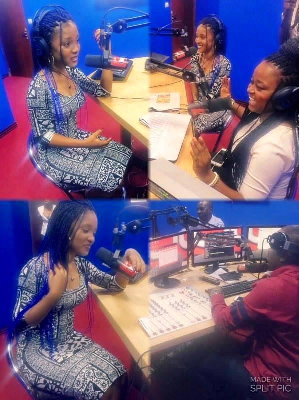 NESSA AU DAFRESHMORNING SUR URBAN FM 104.5 .