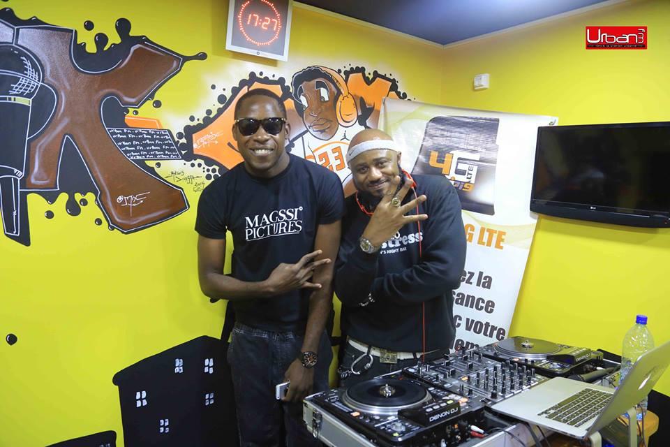 Amenem et DJ FLEO ( Credits photos URBAN FM )