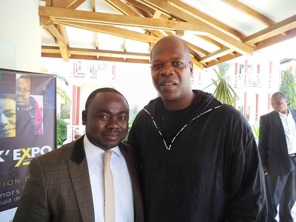 Rolland Djakou et Amobe Mevegue.