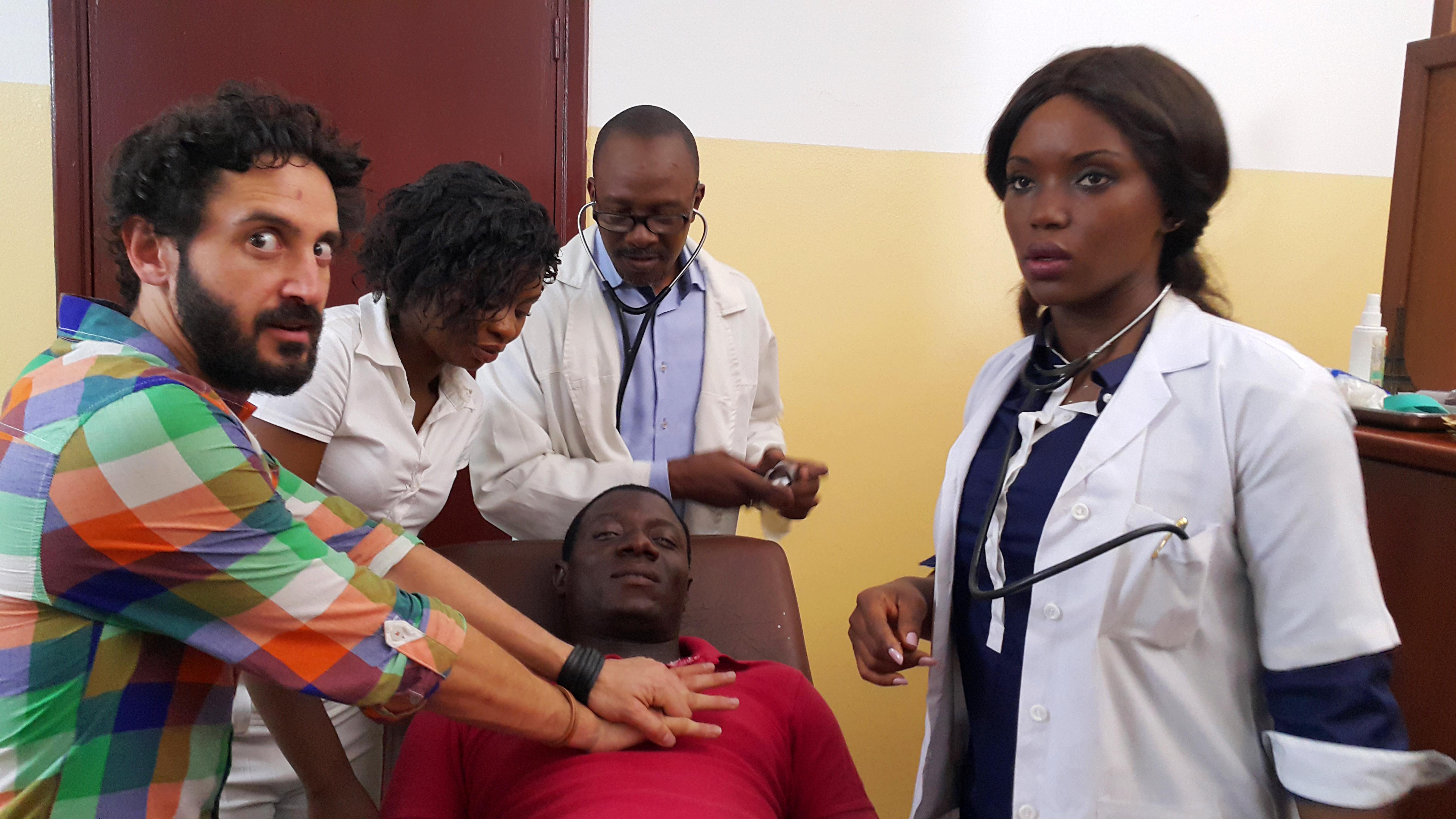 Serge Abessolo dans la série '' AIMER MALGRE LUI '' de la réalisatrice Habi Toure.