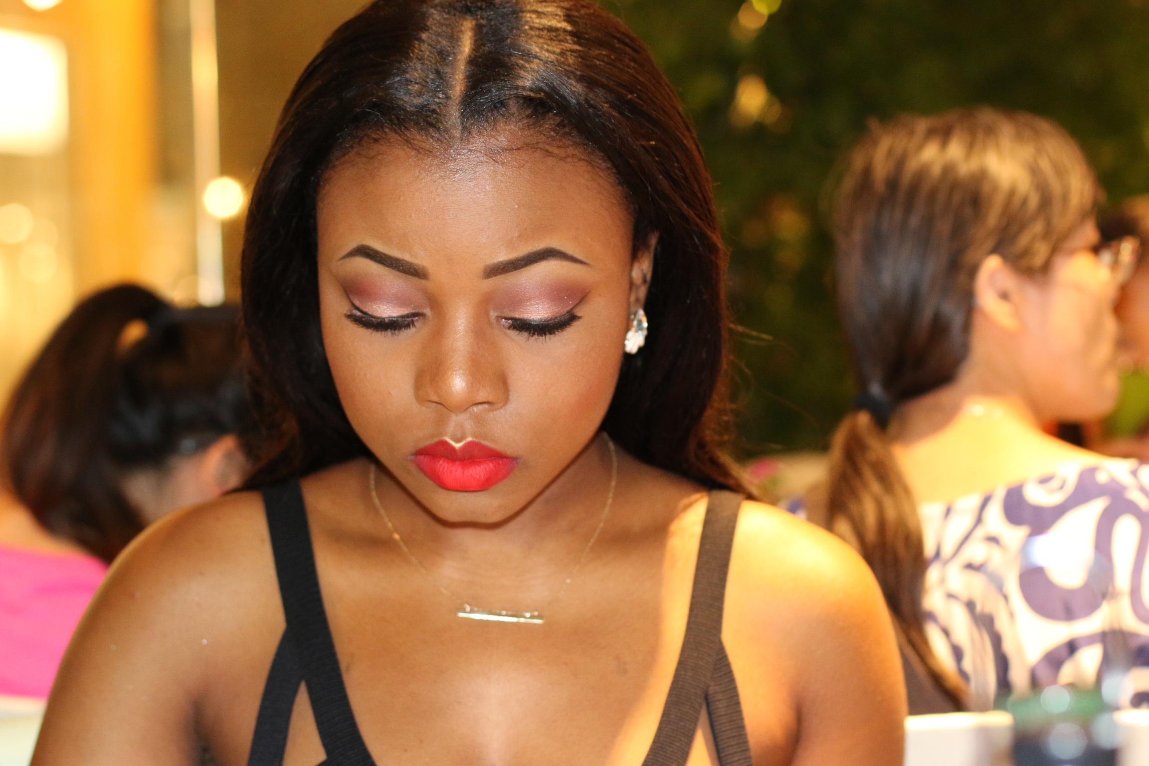 Une cliente d'AmyRamzy Beauty.