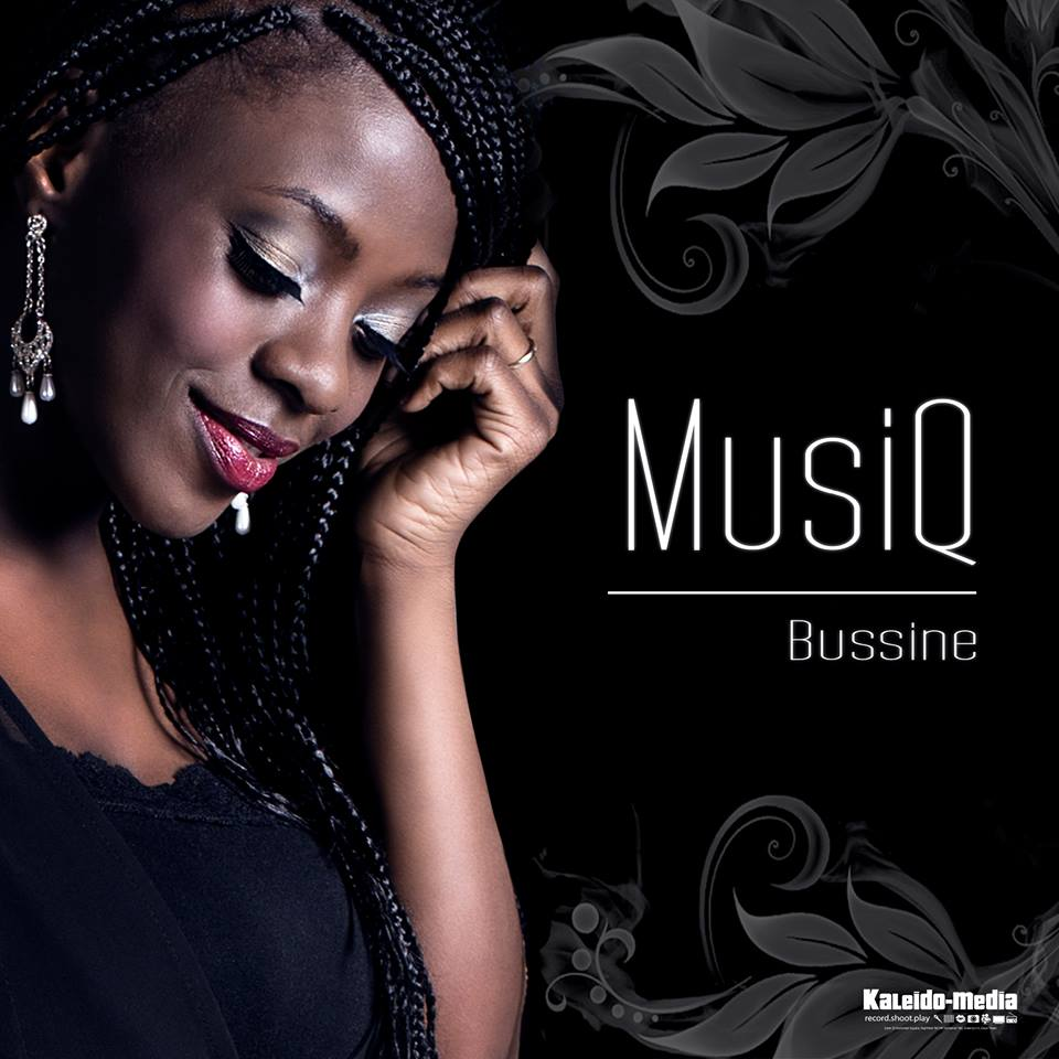 """Cover du premier album de Bussine """"MUSIQ"""", toujours disponible."""