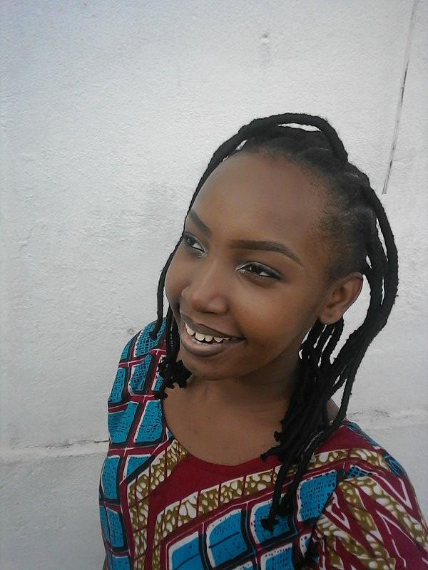 Grace, artiste, candidate à THE VOICE AFRIQUE