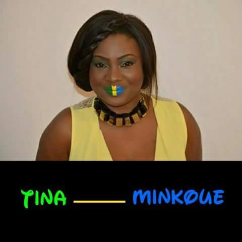 Tina Minkoue, artiste gabonaise.