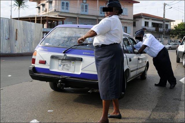 Police-au-gabon