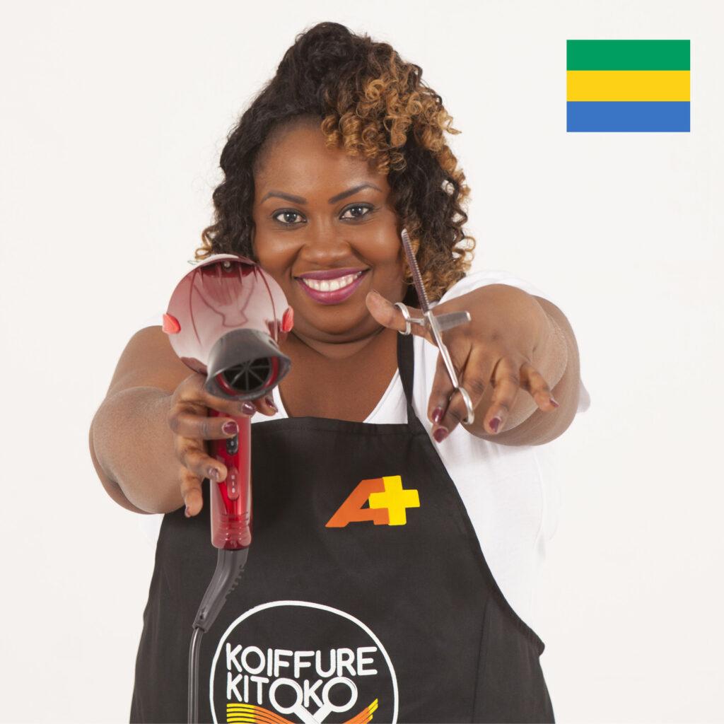 Candy Ngoye Nongo, candidate gabonaise, saison 2
