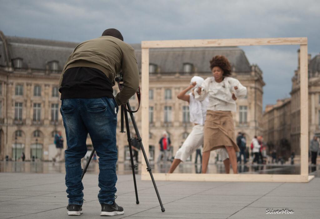Les Mi M'biass, danseuses, chorégraphes gabonaises. Photos Credits: SILVER MBA.