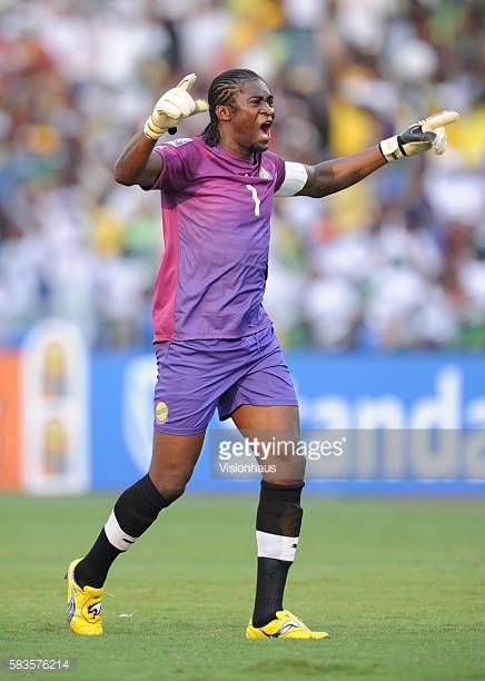 Didier Ovono Ebang, gardien de but gabonais, 106 sélections.