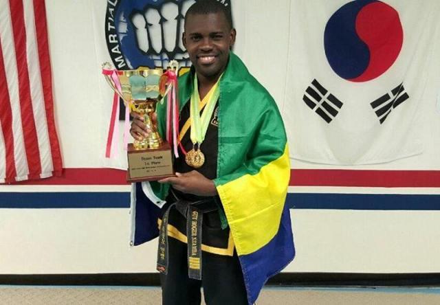 Guy Roger Nzamba, Champion du monde de Choi Kwang Do.