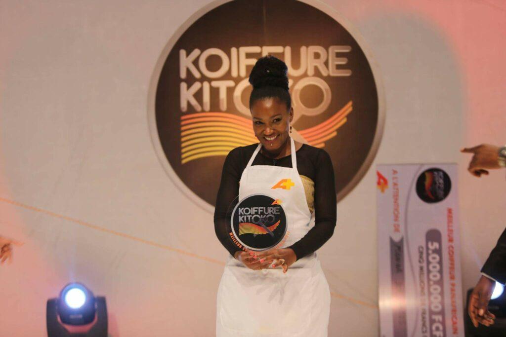 Manina, gagnante de la saison 2 de Koiffure Kitoko