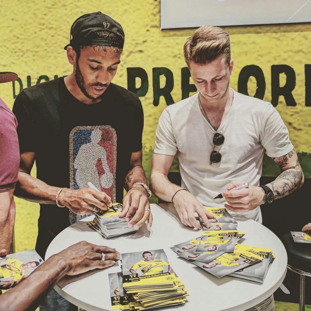Crédit photo: compte twitter Borussia Dortmund
