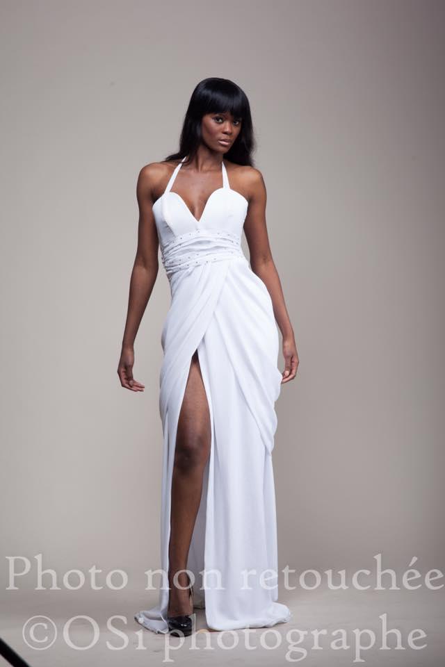 Daniella Ovono Ebang, créatrice de mode. CREDITS PHOTOS: OSI PHOTOGRAPHE.