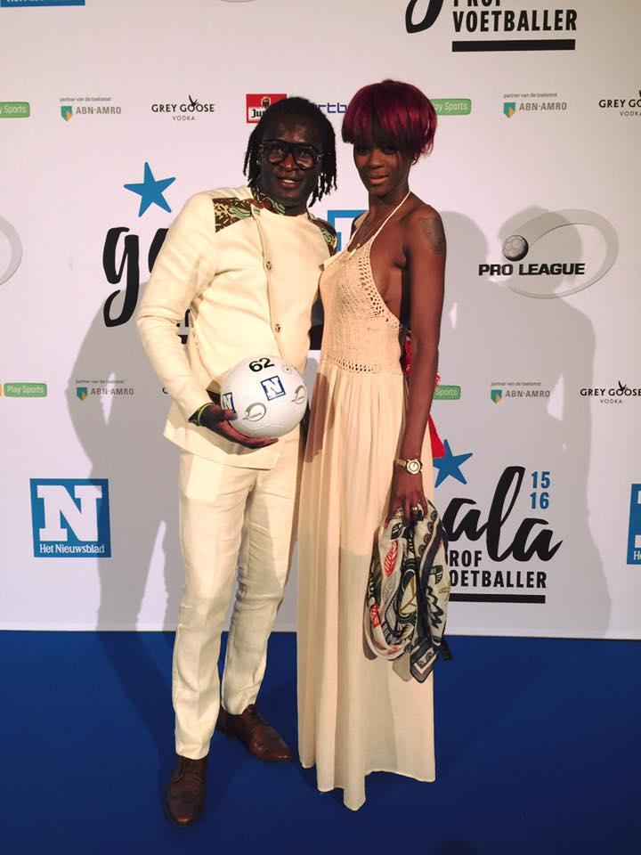 Daniella Ovono Ebang et son époux le footballeur Didier Ovono Ebang