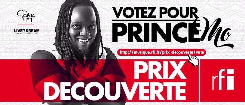 Prince Mo Prix Découvertes RFI 2017